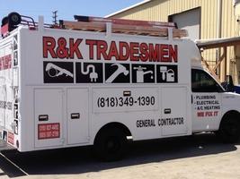 R K Tradesmen Handyman Plumber Electrician General Contractor Los